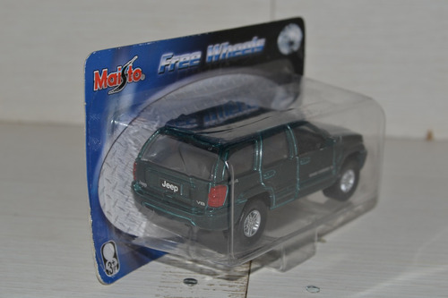 miniatura jeep grand cherokee 1:42 maisto free wheels