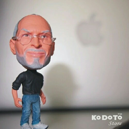 miniatura kodoto steve jobs apple ijobs mini iphone ipad