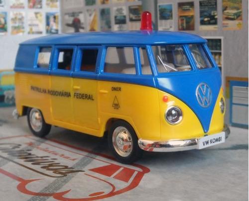 miniatura kombi viatura prf patrulha rodoviária federal