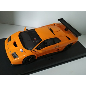Miniatura Lamborghini Diablo Gtr Escala 1:18 Autoart 2001
