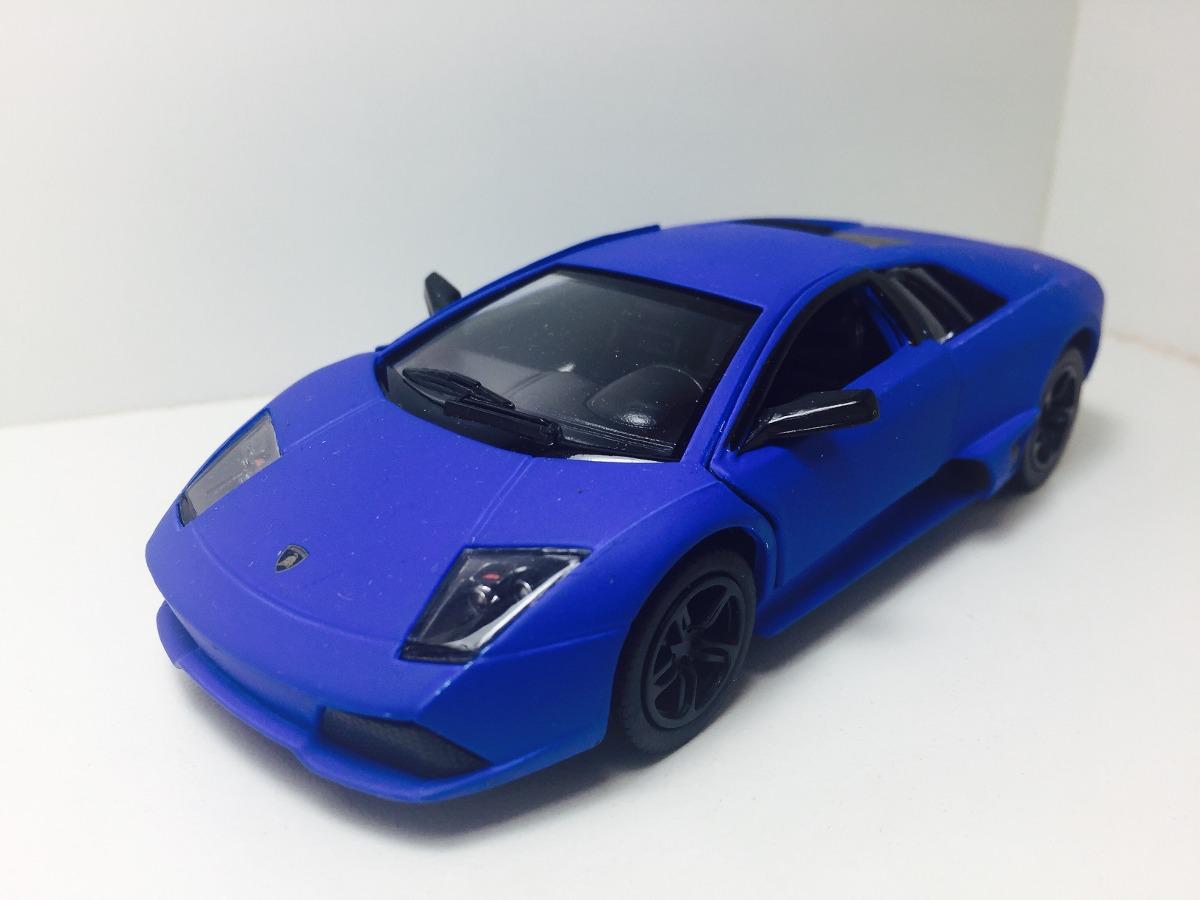Miniatura Lamborghini Murcielago Azul Fosco 1 36 Kinsmart R 35 00
