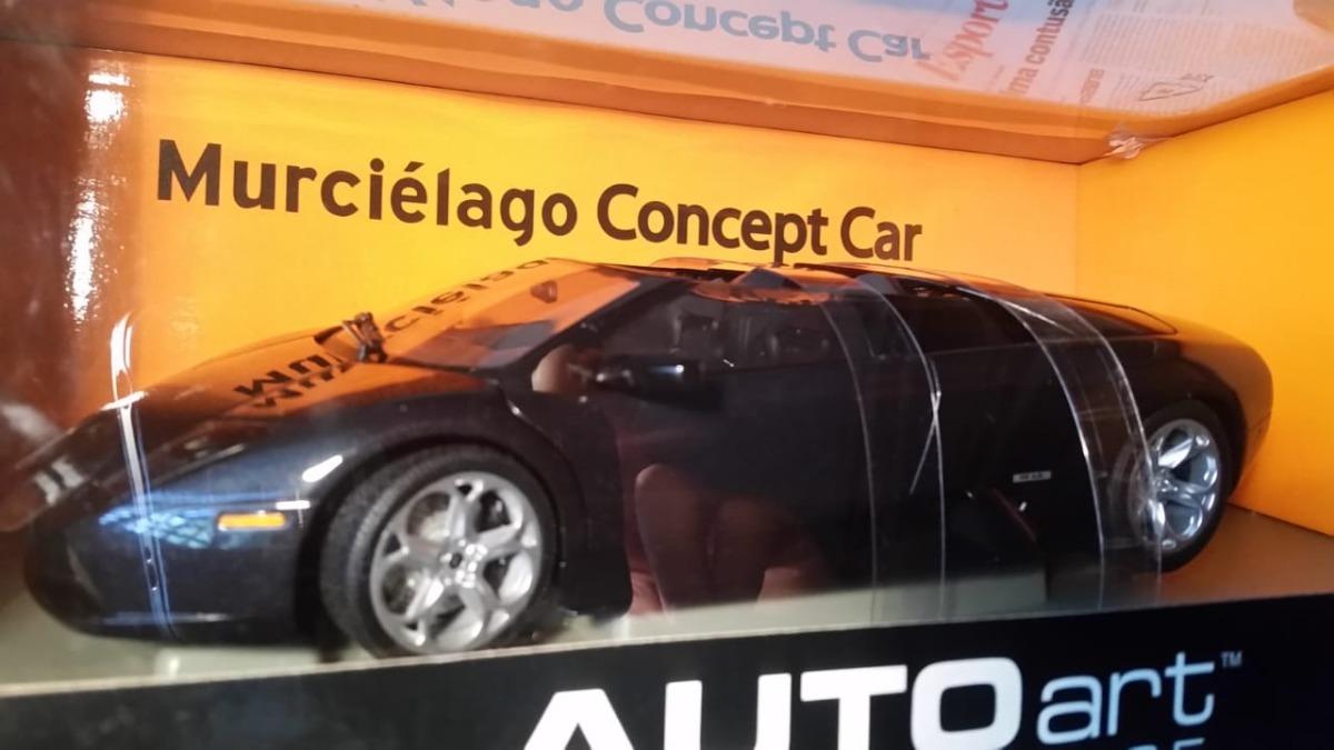 Miniatura Lamborghini Murcielago Concept Car Autoart 1 18 R 1 597