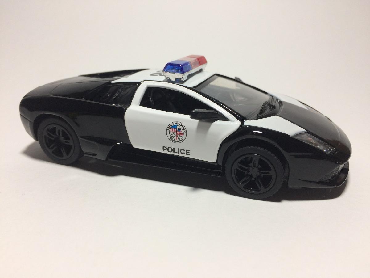 Miniatura Lamborghini Murcielago Lp640 Police E1 36 R 21 00 Em