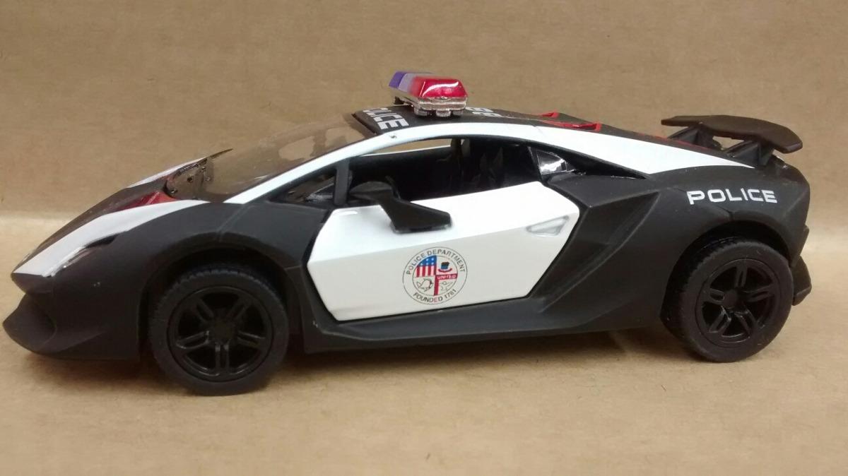 Miniatura Lamborghini Sesto Elemento Da Policia R 29 99 Em