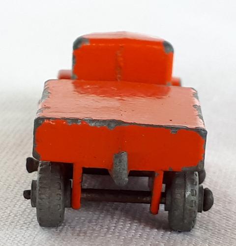 miniatura lesney moko matchbox prime mover flatbad truck n15