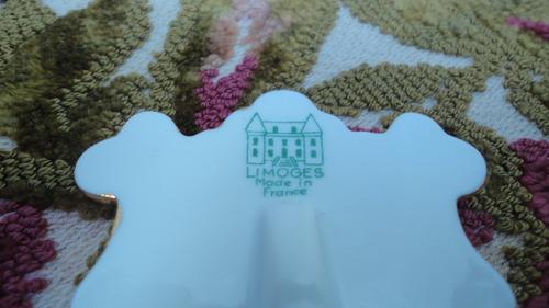 miniatura limoges francesa antigua porta retrato dama veala
