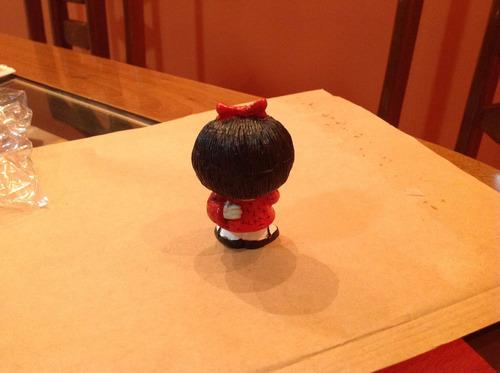 miniatura mafalda em resina com 7 cm - bonellihq i18