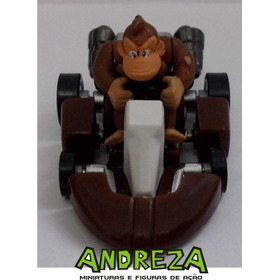 Miniatura Mario Kart - Mario Kart Donkey Kong Figura Ação