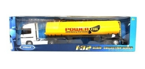 miniatura mercedes benz actros oil tanke escala 1/32