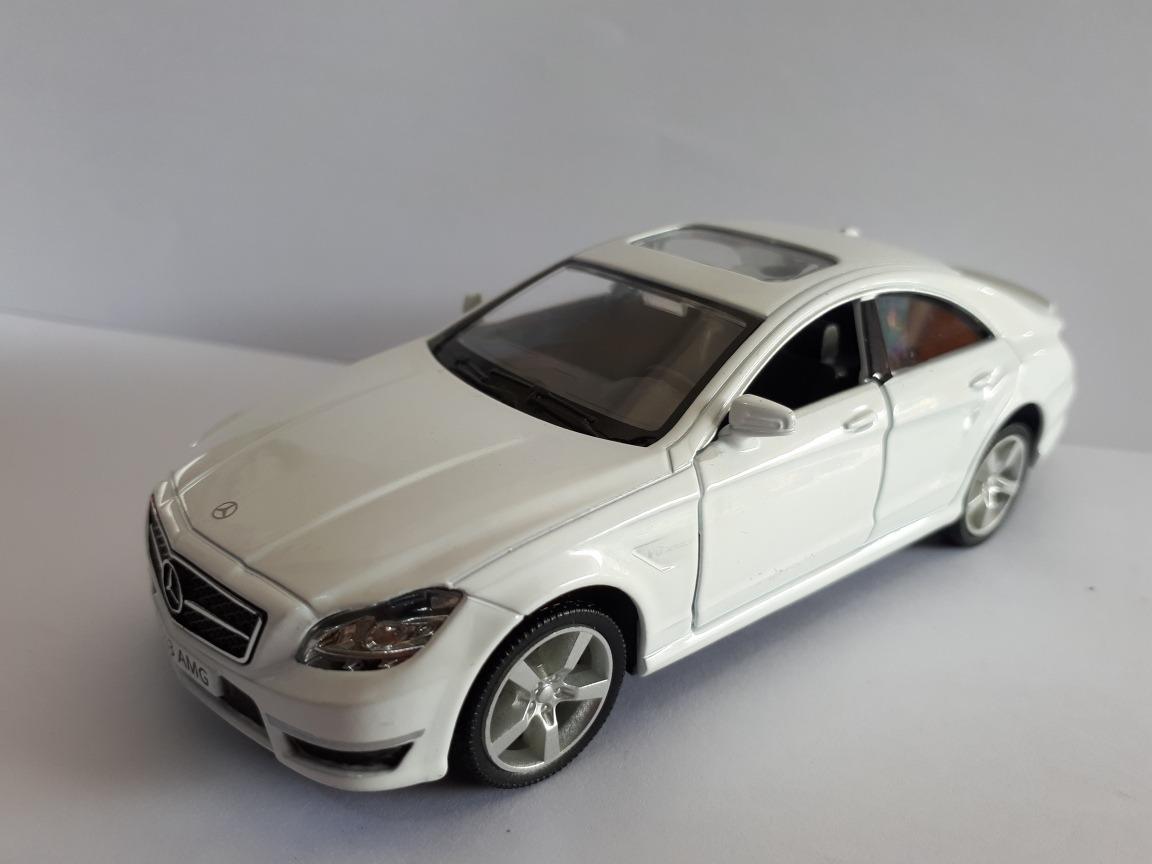 Miniatura Mercedes Benz Cls 63 Amg Brinquedo Metal Branca. Carregando Zoom.
