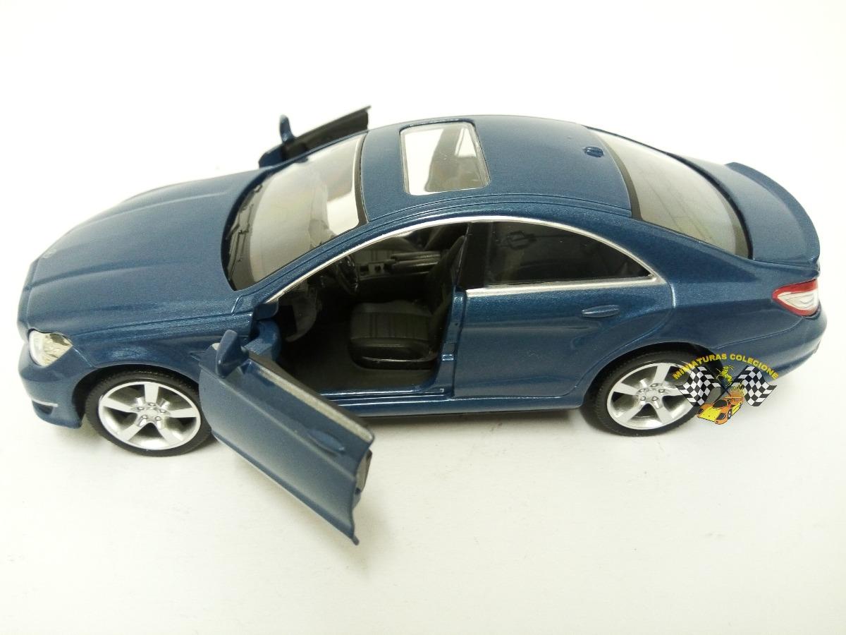 Miniatura Mercedes Benz Cls 63 Amg   C218 Azul Rmz 1:32. Carregando Zoom.