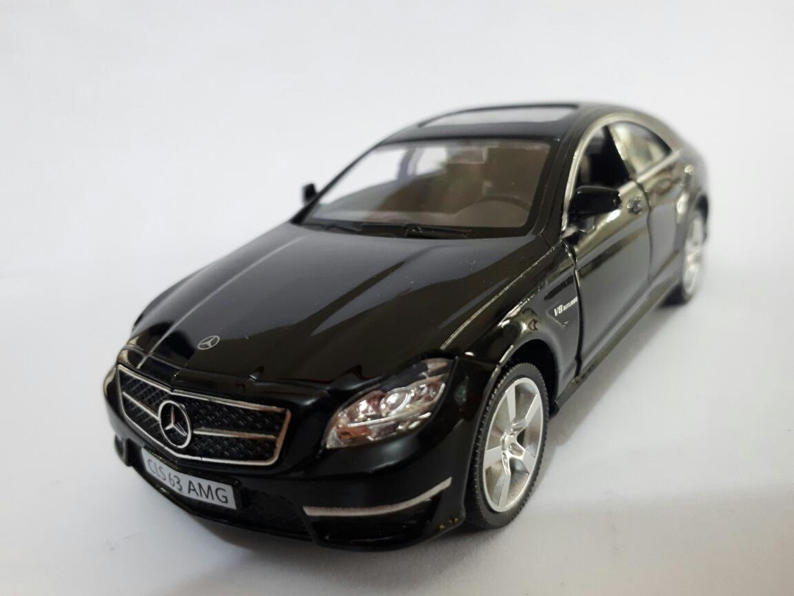 Miniatura Mercedes Benz Cls 63 Amg Preta Metal Brinquedo. Carregando Zoom.