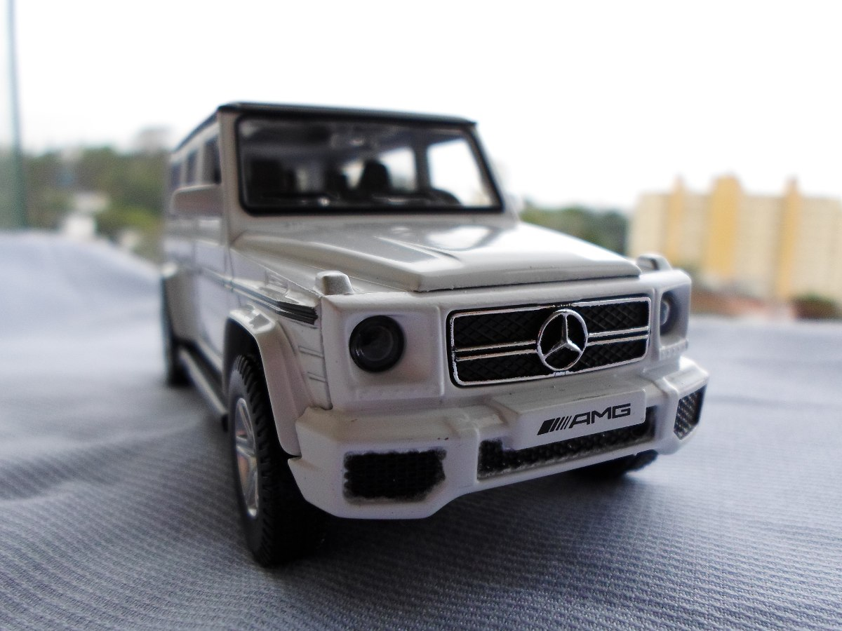 Miniatura Mercedes Benz G63 Amg Branca 1/32 Rmzcity. Carregando Zoom.