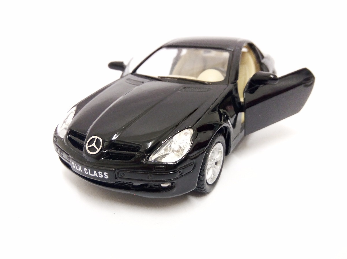 Miniatura Mercedes Benz Slk Class Preto 1:32 Kinsmart. Carregando Zoom.