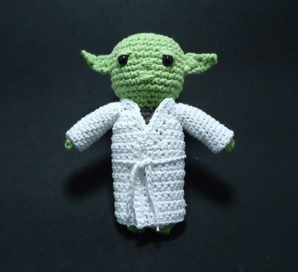 Amigurumi Mestre Yoda ( versão chibi ) Amigurumi Tutorial ... | 1096x1200