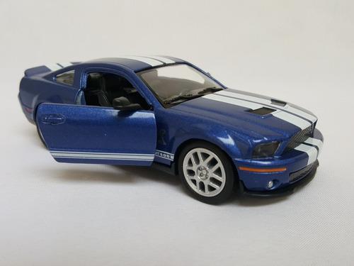 miniatura metal 1:32 mustang cobra 2007 + camaro 2010 br24