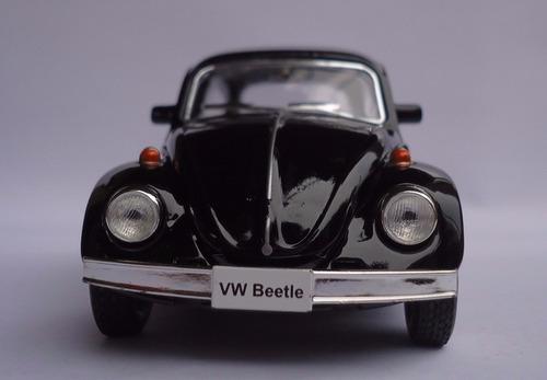 miniatura metal carro antigo coleção fusca escala 1:32 1967