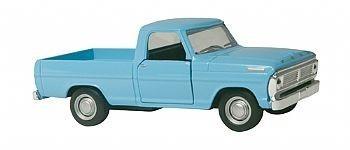 miniatura metal carro classicos nacionais ford f 100 - 1968