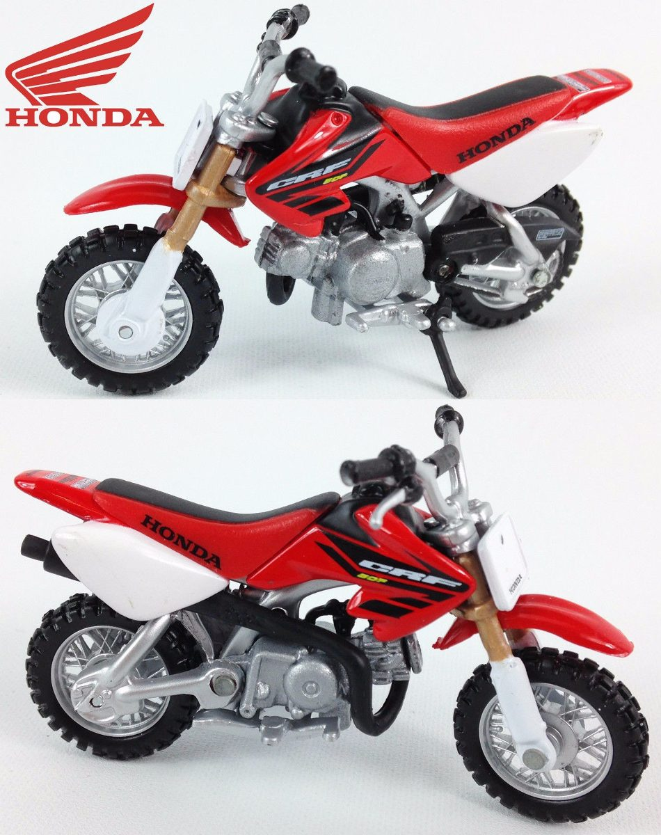 miniatura mini moto honda crf 50f 1 18 maisto r 25 99. Black Bedroom Furniture Sets. Home Design Ideas