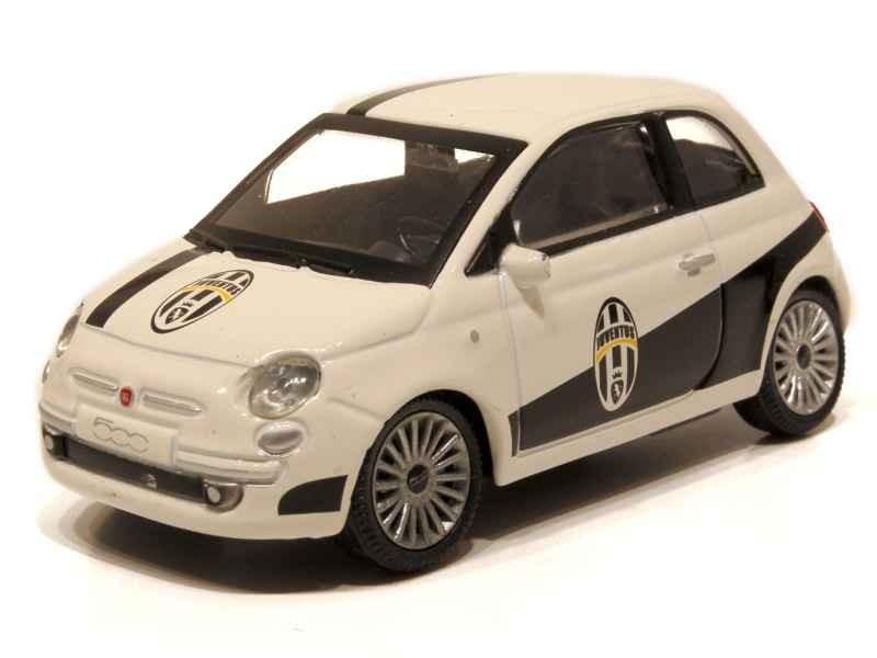 Miniatura Modellino Auto Mondo 1 43 Fiat Nuova 500 Juventus