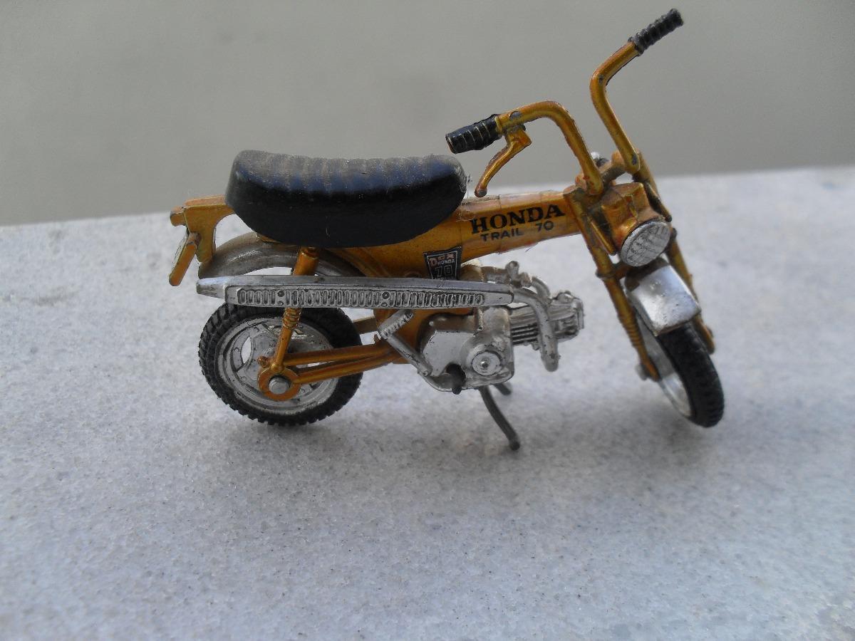 Miniatura Moto Honda Trial 70. Carregando Zoom.