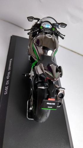miniatura  moto  kawasaki ninja h2 2015
