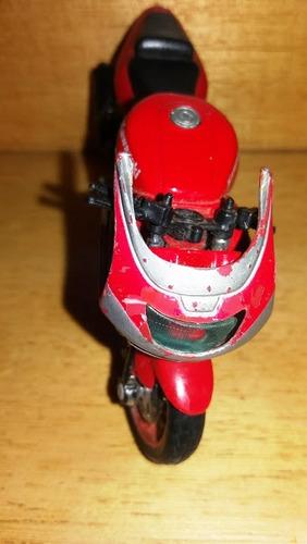 miniatura moto kawasaki ninja sucata restauro diorama maisto