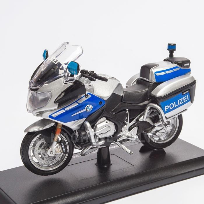 Miniatura Moto Polizei Bmw R 1200 Rt 1 18 Moto Policia