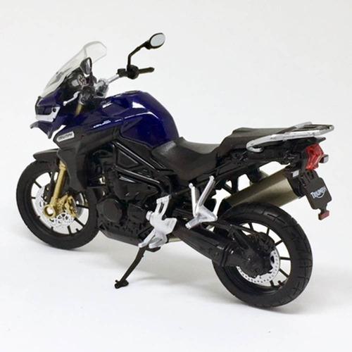 miniatura moto triumph tiger explorer 1:18 welly 060437