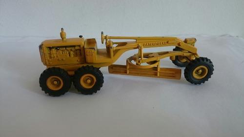 miniatura motoniveladora caterpillar cat n° 12 - jue s/a