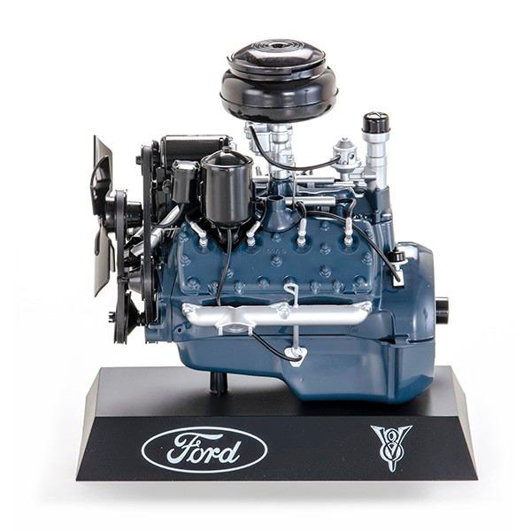 Miniatura Motor Ford V Flathead Colecionador Mini D Nq Np Mlb F