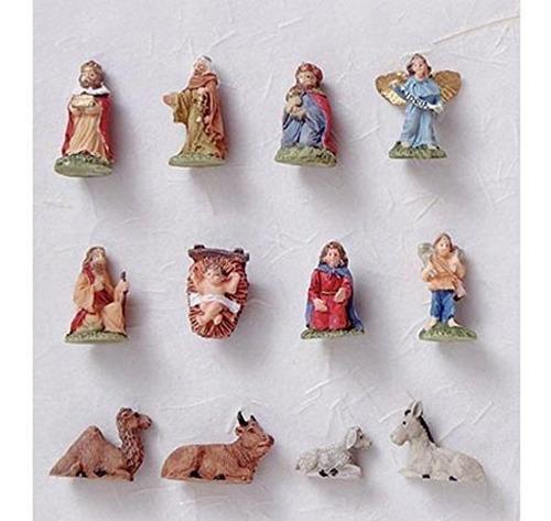 miniatura navidad natividad set 34 pulgadas
