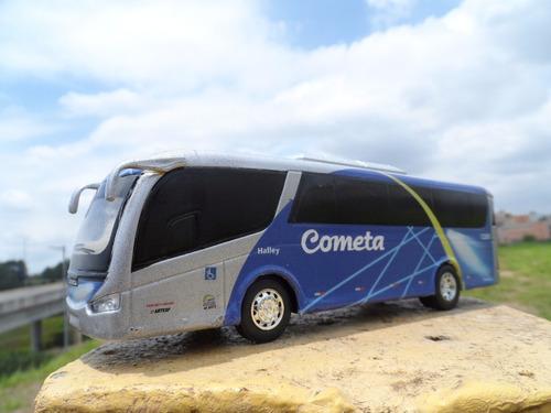 miniatura ônibus cometa em metal