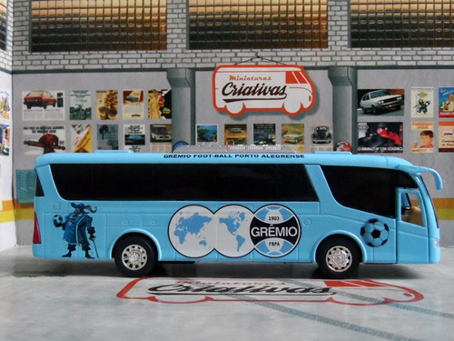 miniatura ônibus do grêmio