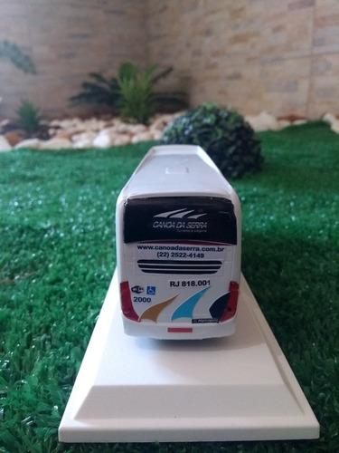 miniatura ônibus (grife marcopolo)