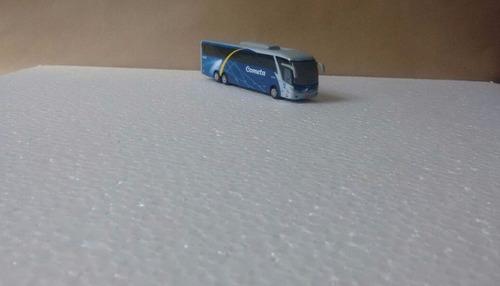 miniatura, ônibus marcopolo g7-1200 cometa