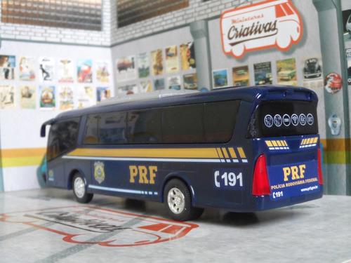 miniatura ônibus polícia rodoviária federal prf