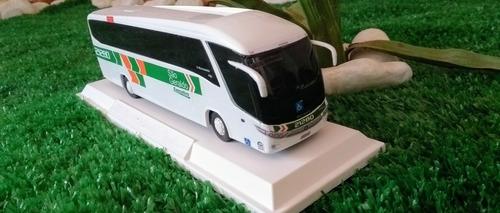 miniatura ônibus sg ou rm(grife marcopolo)