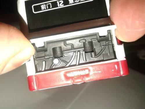 miniatura onibus mercedes articulado metal escala  1:55