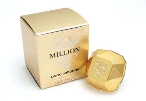 03fec0695 Miniatura Paco Rabanne Lady Million Feminino 5 Ml - R  39