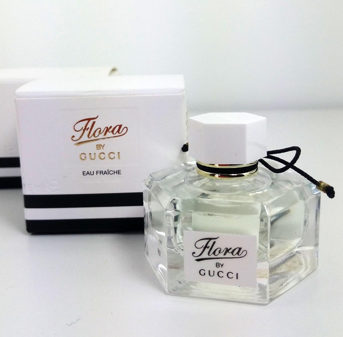 4ad02bdda miniatura perfume gucci flora by gucci feminino original 5ml. Carregando  zoom.