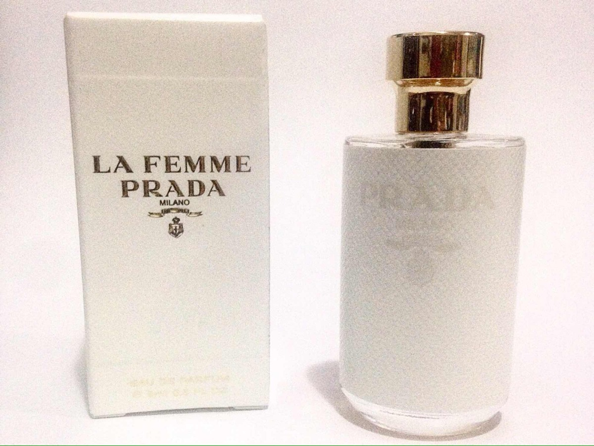 37f3d00f8a434 miniatura perfume prada la femme milano edp 9ml. Carregando zoom.