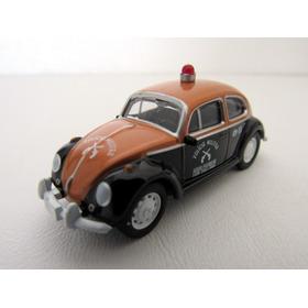 Miniatura Polícia Militar Sp California Toys Fusca