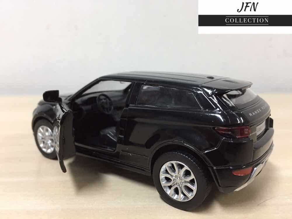 a7720b435aae9 miniatura range rover evoque 2018 preta em metal ! Carregando zoom.