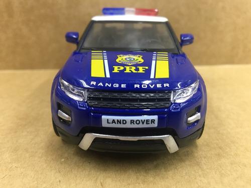 miniatura range rover evoque da polícia rodoviária federal