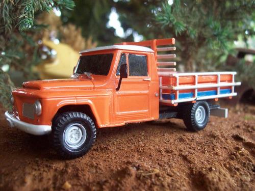 miniatura rural willys pick up