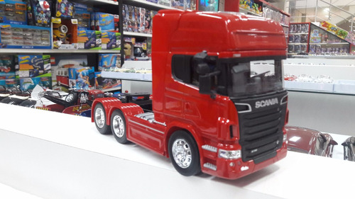 miniatura scania r730 trucado - welly- escala 1:32