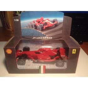 Miniatura Shell Ferrari F2008 1/38 Hot Wheels
