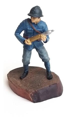 miniatura soldado com bala de canhão guerreiro de chumbo