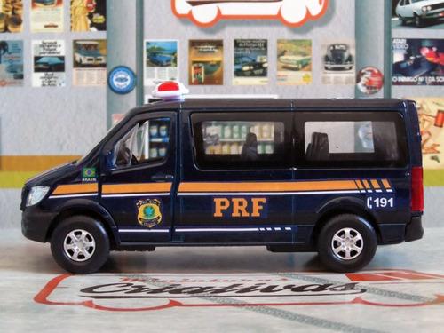 miniatura sprinter base prf polícia rodoviária federal